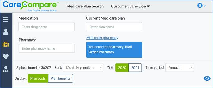 Medicare Plan Search Site Image