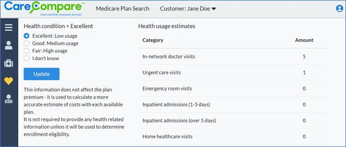 Medicare Plan Search and Health Condition Site Image
